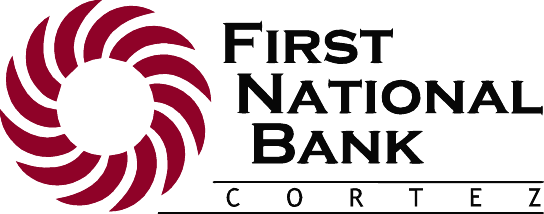 First National Bank, Cortez Logo