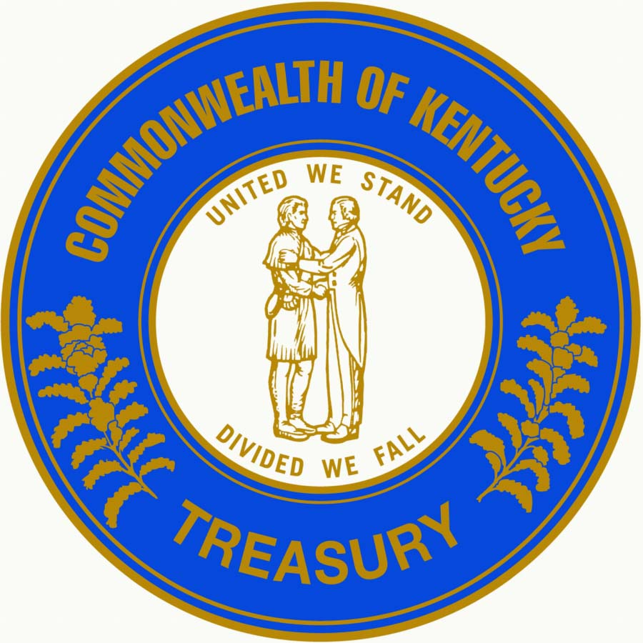 Kentucky Department of the Treasury Logo