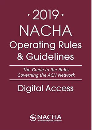 Nacha operating rules pdf