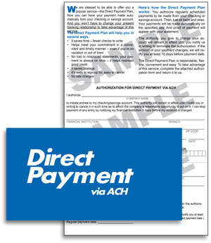 Direct Payment via ACH Authorization Forms | Nacha