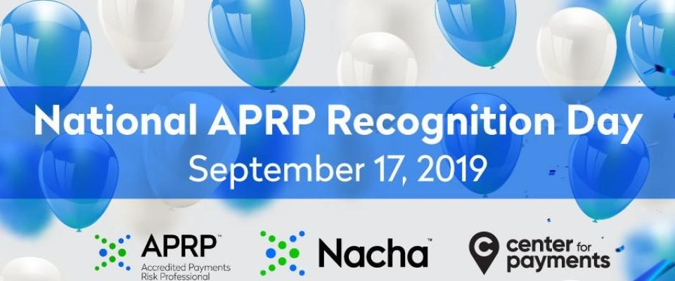 National APRP Recognition Day